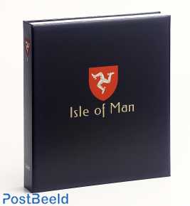 Luxe binder stamp album Isle of Man II