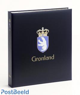 Luxe stamp album Greenland II 2000-2018