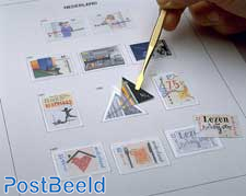 Luxe contents stamp album Netherlands 1983-2003 PZB