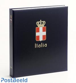 Luxe stamp album Italy Roy. I 1863-1945