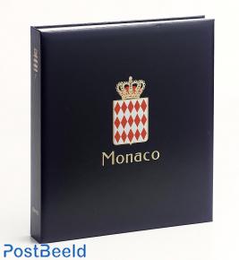 Luxe stamp album Monaco III 1980-1987