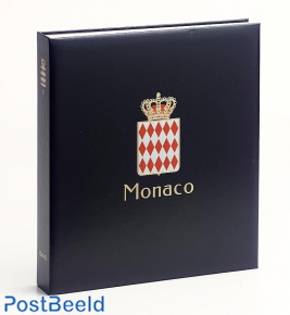 Luxe stamp album I of Monaco Albert II 2006-2015 (in color)