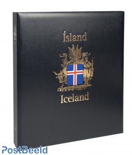 Luxe stamp album Iceland I 1873-1989