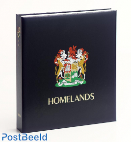 Luxe binder stamp album S. Africa Homeland. (Without Number)
