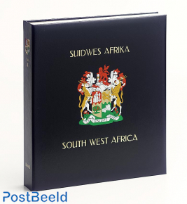 Luxe stamp album binder Z.W Africa / Namibia III