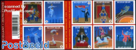 Circus 10v s-a in foil booklet