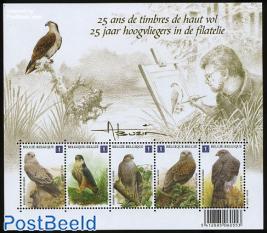25 Years birdstamps s/s