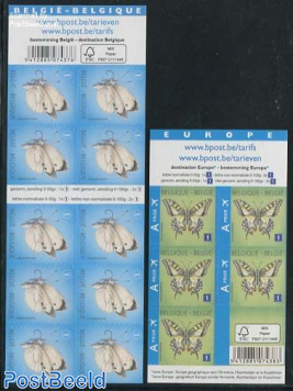 Butterflies 2 foil booklets (new text, new paper)