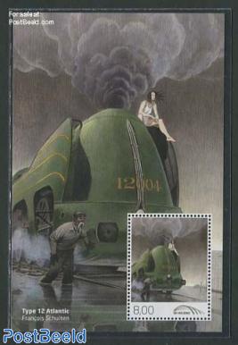 Railway stamps, Type 12 Atlantic s/s