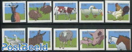 Farm animals 10v s-a