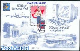 Belgica, postal service s/s
