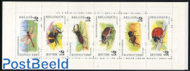 Insects 6v in booklet