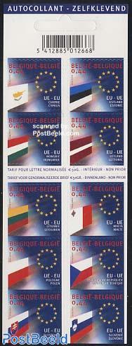 New EU members 10v in booklet