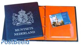 Rijksmuntsets album 1992/2001 + slip case blue