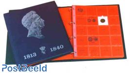 Willem I luxe album + slip case blue