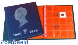 Willem 2 luxe album + slip case blue