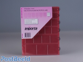 Importa Coin Pages Popular - 30 Pockets Mixed Sizes