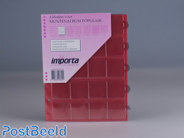 Importa Coin Pages Popular - 20 Pockets
