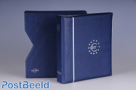 Coin album numis, incl. slipcase, with 5 pocket sheets, blue