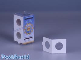 50 Coinholders Self-Adhesive 27.5mm