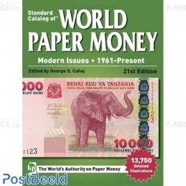Krause World Paper Money 1961-present, 21st edition