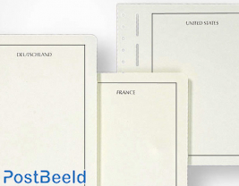 Leuchtturm Blank Pages Germany DDR