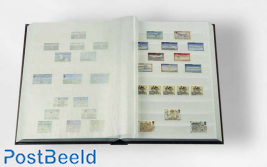 Leuchtturm Basic Stockbook 64 White Pages (A4) Divided - Blue