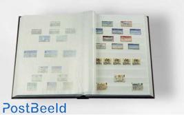 Leuchtturm Basic Stockbook 32 White Pages (A4) Black