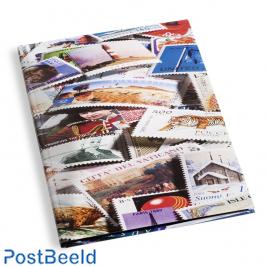 Leuchtturm Stamp Stockbook 16 Black Pages (A4) - Motif