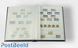 Leuchtturm Basic Stockbook 16 White Pages (A4) Blue