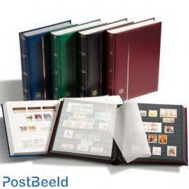 Leuchtturm Comfort Stockbook 64 White Pages (A4) Blue