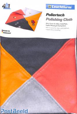 Polishing Cloth with 4 zones