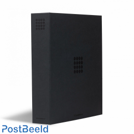 Leuchtturm Optima Ringbinder Pur in black