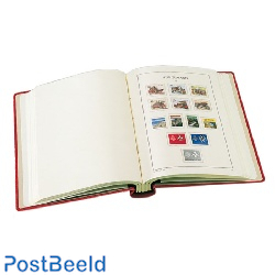 DL Luxus springback binder red + slip case