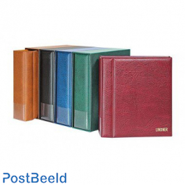 Multicollect binder for coins+cassette winered