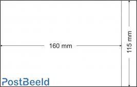 500 glassine bags 115x160mm