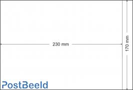 500 glassine bags 170x230mm