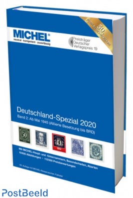 Michel Germany Special catalogue part 2, 2020 edition