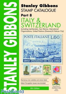 Stanley Gibbons Europe Volume 8: Italy and Switzerland