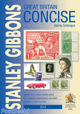 Stanley Gibbons Great Britain Concise 2014