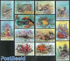 Definitives, marine life 13v