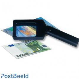 Safe UV-light magnifier 366nm long wave