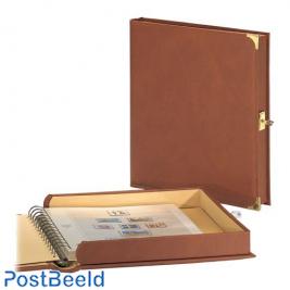 Slipcase binder brown