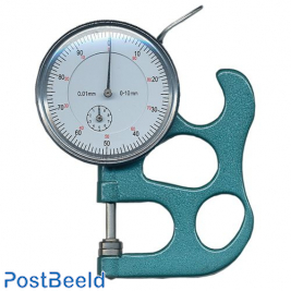 Paper thickness gauge, accuracy 1/100mm