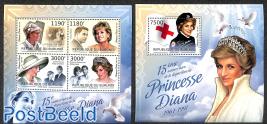 Princess Diana 2 s/s