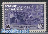50c violet, Stamp out of set