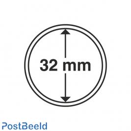 Numis 10x Coin Capsules 32mm