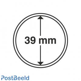 Numis 10x Coin Capsules 39mm