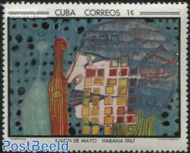 Painting Hundertwasser 1v