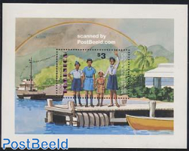 50 Years Girl Guides s/s